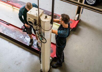 hefbrug onderhoud banner kraai vt